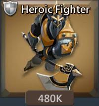 heroic fighter